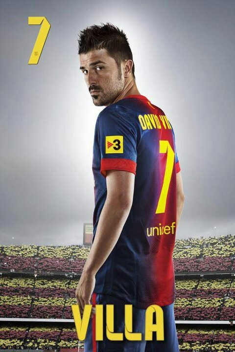 David Villa my favorite soccer player