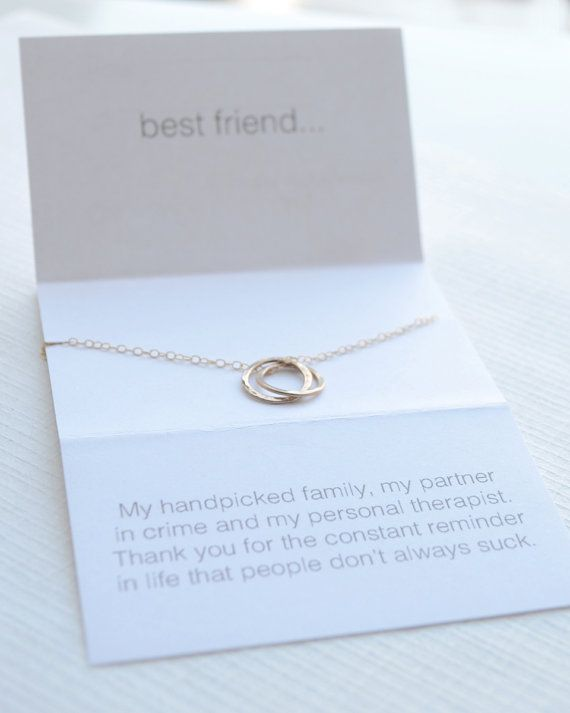 If you and your bestie have a wicked sense of humor, this necklace was handmade just for you. From $32 in silver, gold or rose gold!