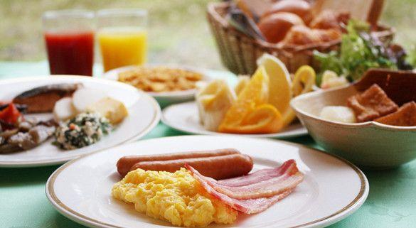 朝食メイン画像