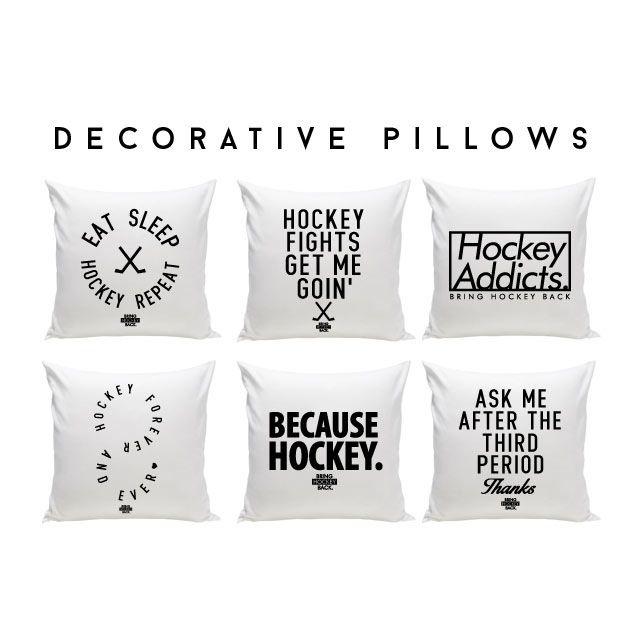 Eat sleep hockey repeat or because hockey