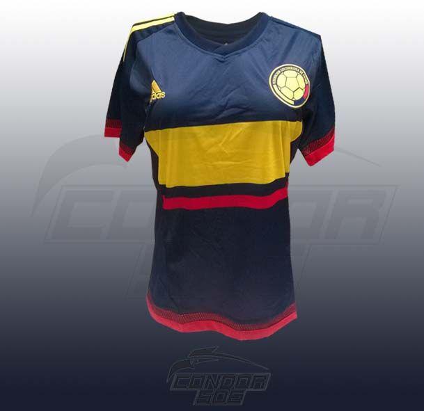 Camisa Selección Colombia azul  copa america 2015 -  2016