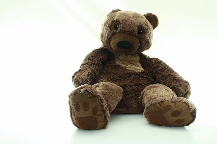 "SASUSA jumbo teddy bear brown plushie stuffed animal toy doll forest 28"" #SASUSA"