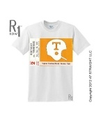 '72 KENTUCKY VS. TENNESSEE football ticket tee by ROW 1.™ Tennessee football gifts! #gifts