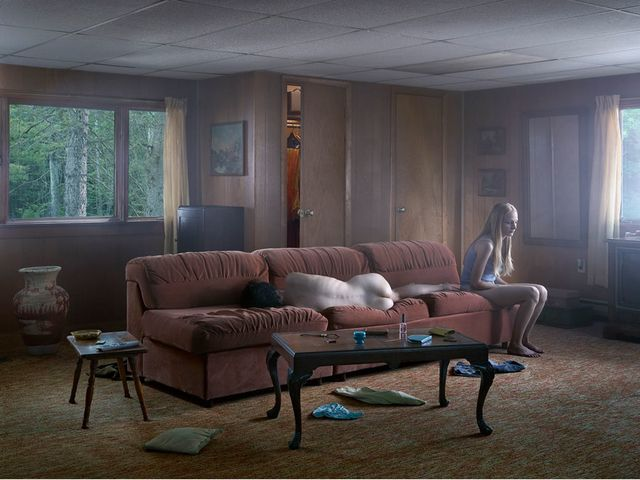 Gregory Crewdson, The Den @artsy