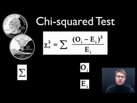 Chi-squared Test - Paul Anderson (Bozeman Biology) shows you how to calculate the chi-squared value to test your null hypothesis.