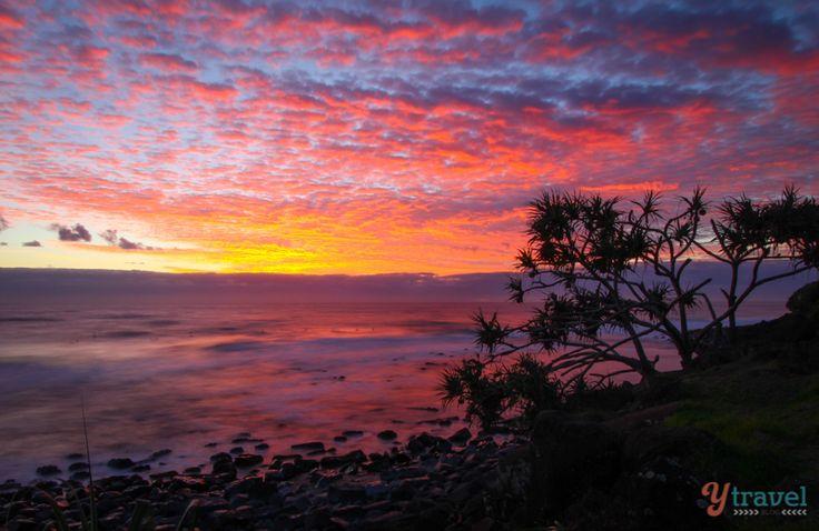 Sunrise at Burleigh Heads, Gold Coast, Queensland, Australia