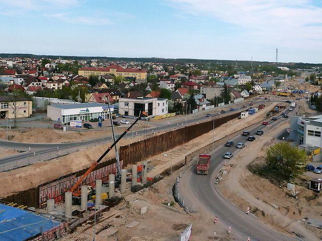 Tunel w ciągu Trasy Generalskiej w Białymstoku