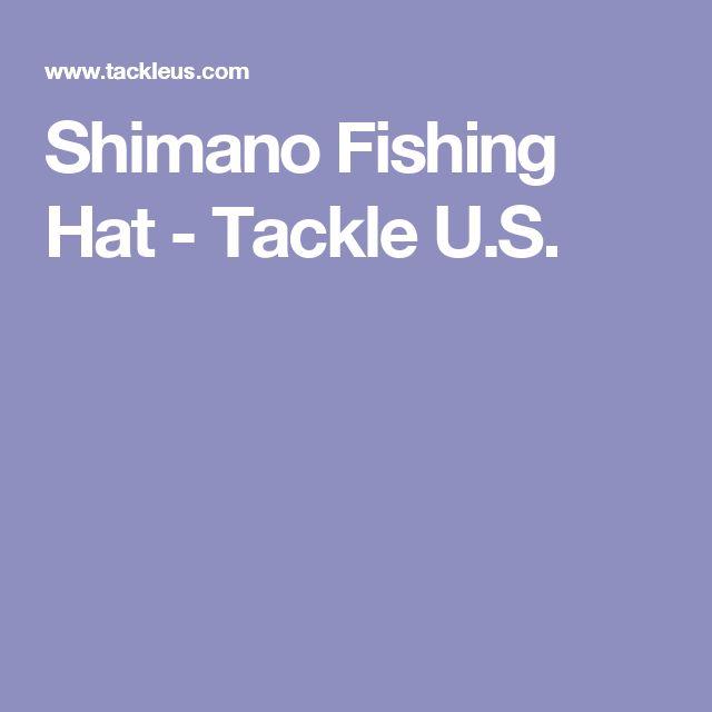 Shimano Fishing Hat - Tackle U.S.