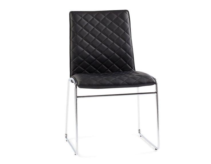 CRYSTAL - Dining chair - Black