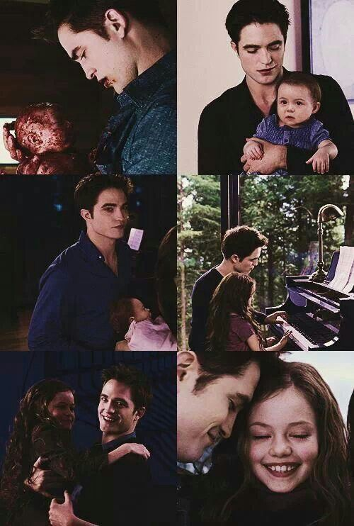 Renesmee and Edward from twilight