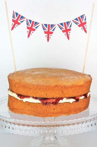 recipe for Victoria Sponge Cake