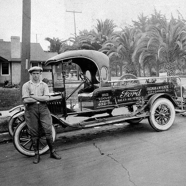 Garage For Service Trucks : Best images about i m a vintage ford on pinterest