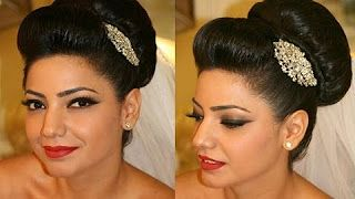 """How to style a bridal bun fast and easy"" by Bella Nella Academy. (Beautiful hairstyles & hair clips!!). Youtube."