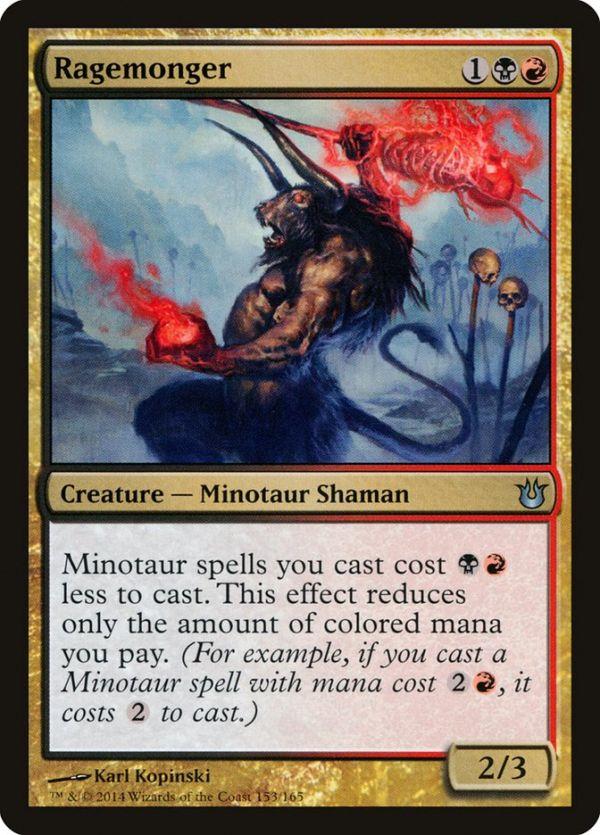 Ragemonger Magic The Gathering Cards Magic The Gathering The Gathering
