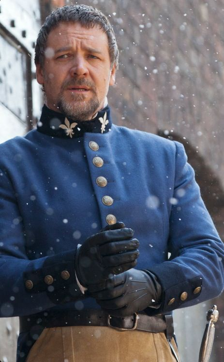 Javert - Russell Crowe - Les Miserables (2012). I've always rather liked him. Ever since I saw it. He's so sad!