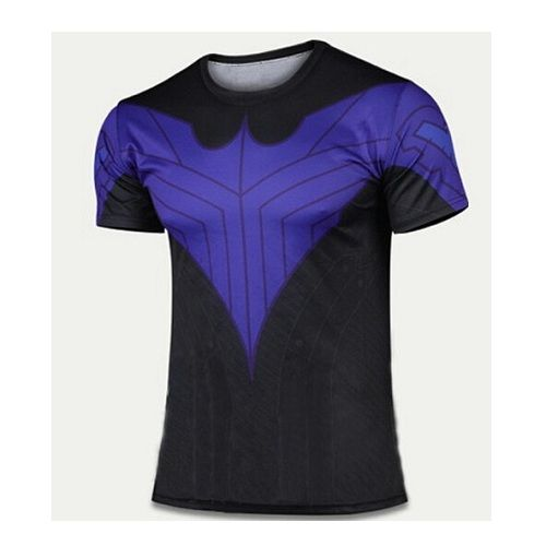 Nightwing Blue Compression Shirt