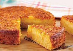 Só Receitas Nota 10: Bolo de Milho Cremoso com milho fresco