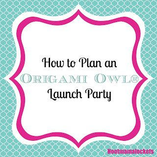 Hoot Mama Lockets: How to Plan an Origami Owl® Launch Party