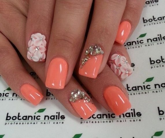 Best Summer Acrylic Nail Art Design Ideas For 2016: Cute-Acrylic-Nail-Designs.jpg (571×480)