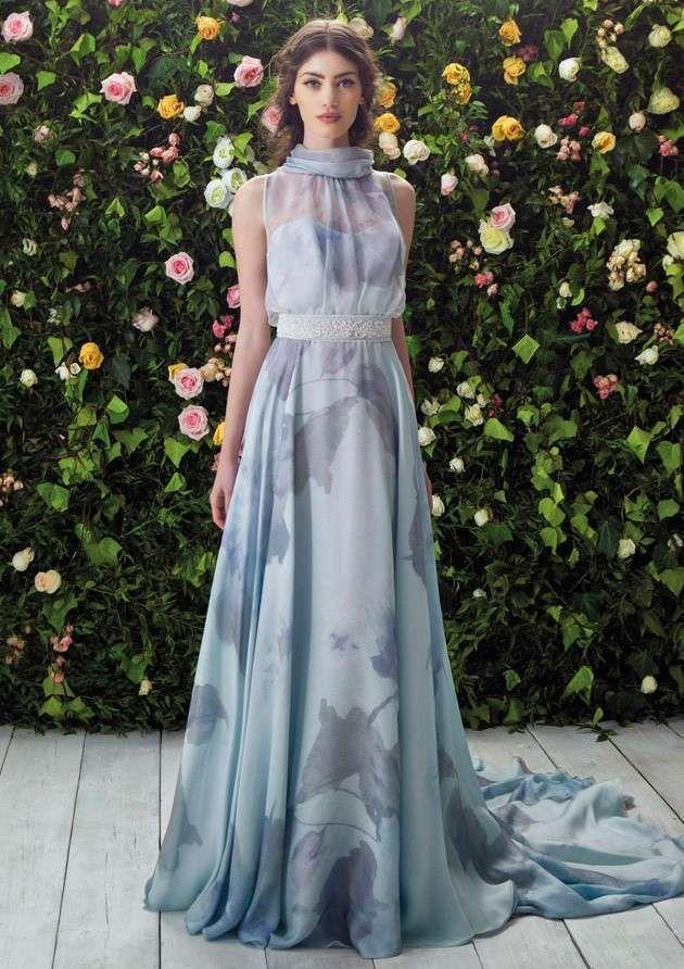 Abiti da sposa Blumarine collezione 2017 - Abito da sposa turchese