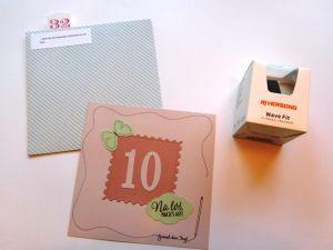 Öffne Wenn Briefe zum 60. Geburtstag - Ratzis Bastelküche