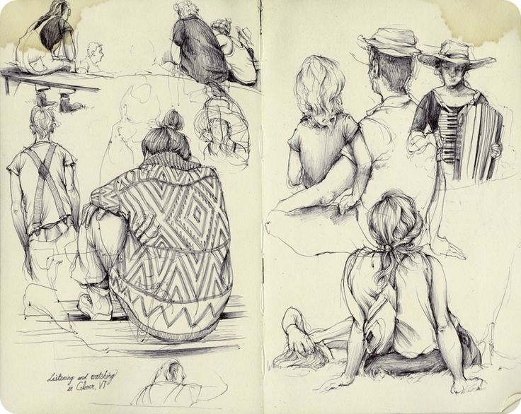 Inspirational Drawing Ideas: Amazing Sketchbook