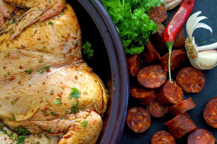 Mama Gastro: Mausteinen kana-chorizopata
