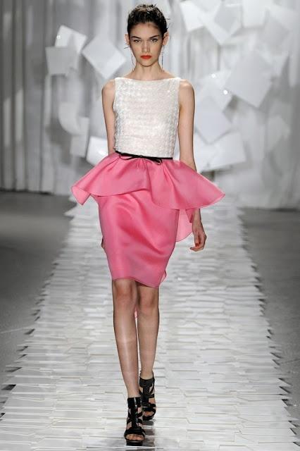 Peplum skirt from Jason Wu SS12