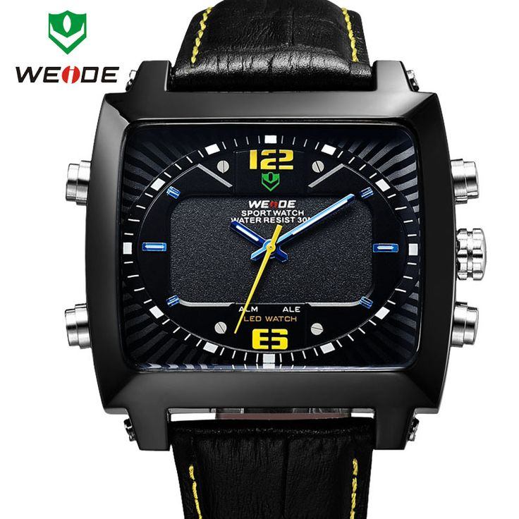 Cheap movement quartz, Buy Quality movement directly from China water development Suppliers: 2015 New WEIDE Original Unique Design Men Sports Watch Japan Miyota Quartz Movement 30 Meters Water Resistant 1 year Gua