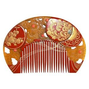 Antique Japanese Hair Comb