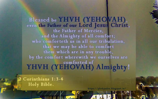 "YHVH (YEHOVAH) Padre: ""YHVH's Promises"""