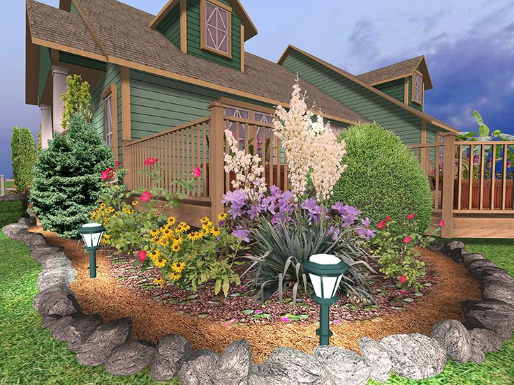 Deck Garden Ideas deck container gardening ideas tbgmtq Landscaping Around Patios Photo Want Your Landscape To Come To Life At Night Using Our