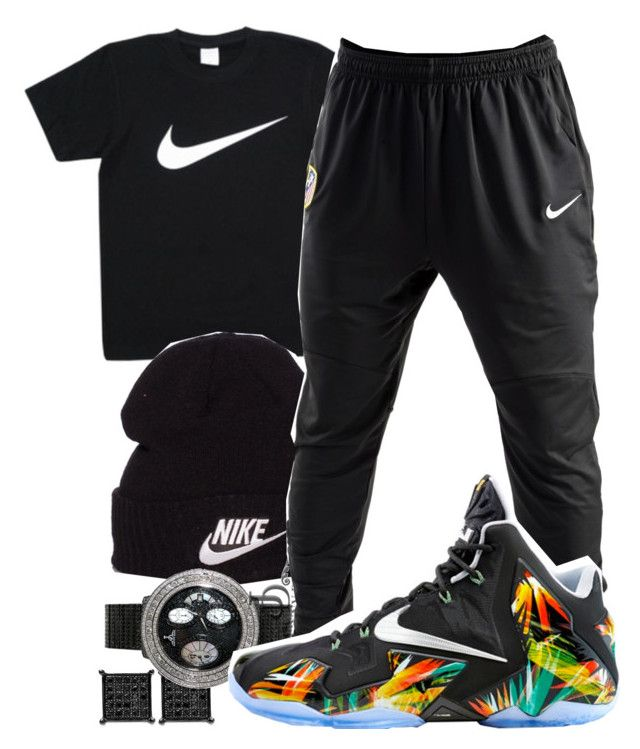 """Young Thug- With Them"" by young-rich-nvgga ❤ liked on Polyvore featuring NIKE, men's fashion and menswear"