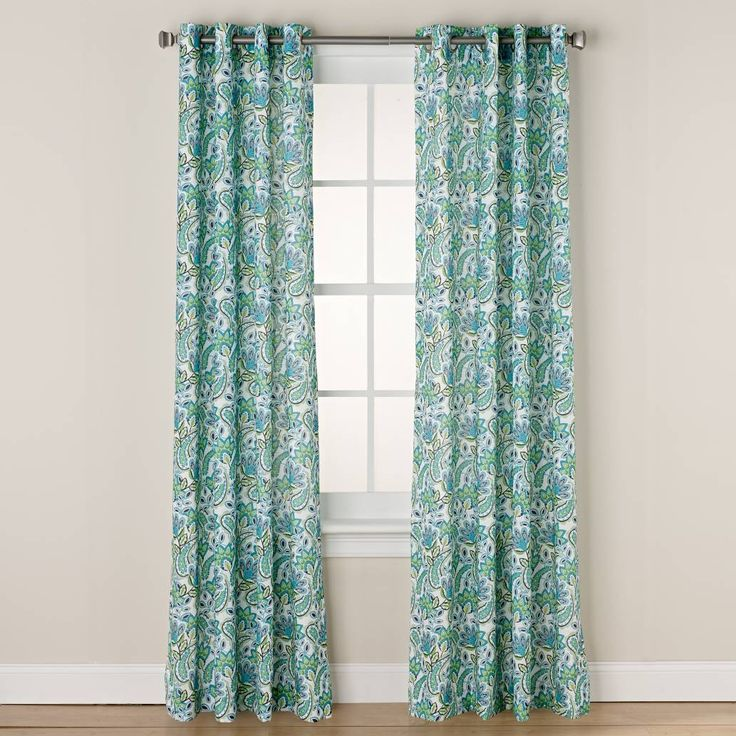 product image for Chloe Print Grommet Window Curtain Panel