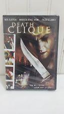 New DEATH CLIQUE Horror DVD 2006 Movie Starring Nick Slatkin Chloe St James