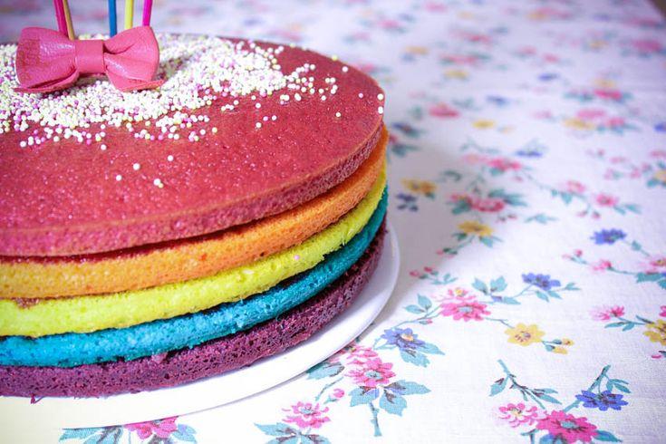 DIY cook: Rainbow cake by artlex