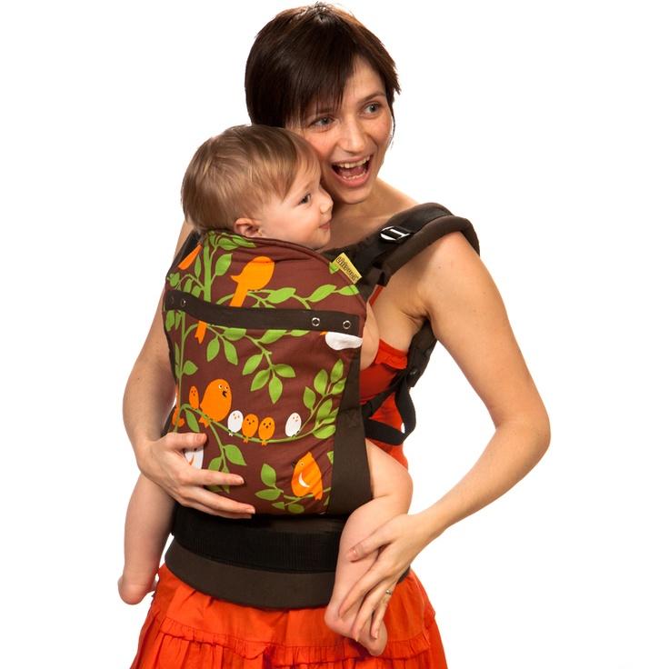 Liliputi® Soft Baby Carrier - Rainbow line - Tweetie Chock Babywearing  More!  #liliputi #liliputistyle #babywearing #babycarrier #softbabycarrier
