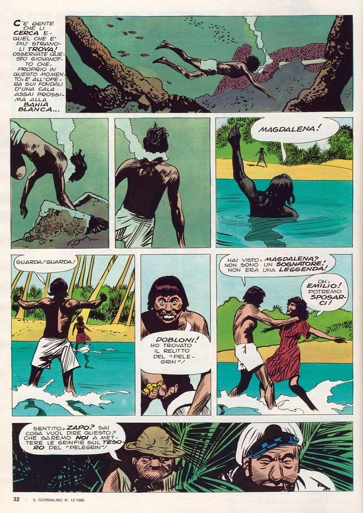 For IL GIORNALINO : TOPPI, BATTAGLIA, MICHELUZZI, DE LUCA   comic ...