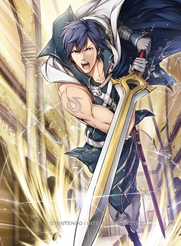 Últimas subidas - Chrom - Artworks e imágenes - Galería Fire Emblem Wars Of Dragons