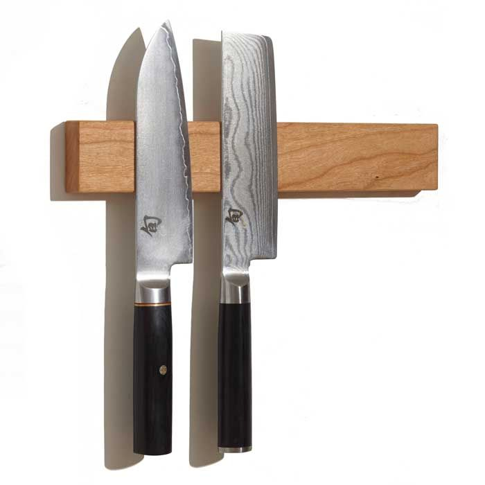 Unique Wooden Magnetic Knife Bar