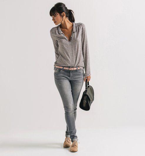 Blusa multicolor - Promod