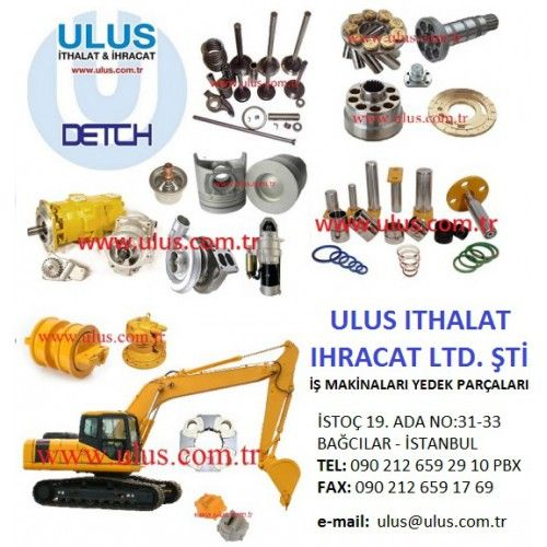 Hitachi excavator engine spare parts, Ulus ithalat Construction machinery spare parts