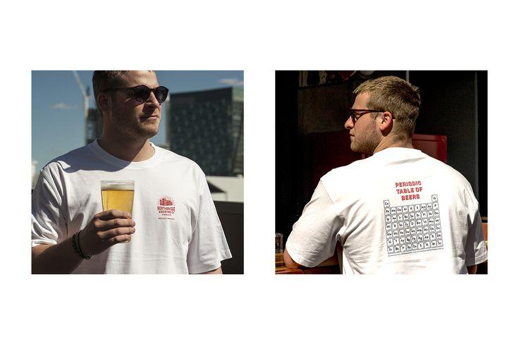Northbridge Brewing company, t-shirt, branding and signage | Dessein
