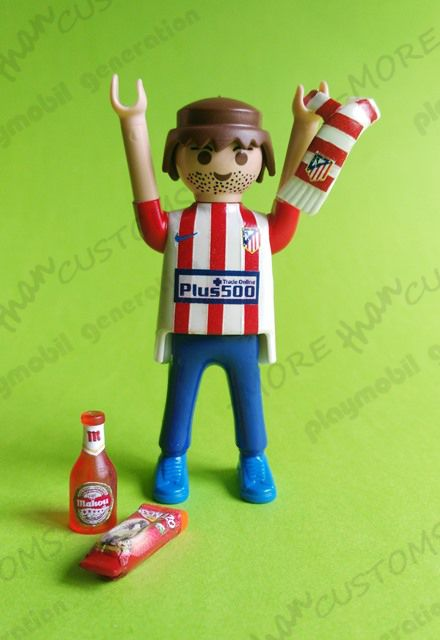 "Customizaciones de playmobil  Nuestros Atléticos  2.0 Club: Atletico de Madrid cancha: Vicente Calderón (Madrid-España) ¡No os perdais el final del video ""todo fútbol"" https://youtu.be/Mu7xXjQ0hgU  #playmobilgeneration #custom #playmobil #customplaymobil #customized  #playcollectorclub #playmobilespaña #playmobilfan  #playmobilworld #playmobilpersonalizado #iloveplaymobil  #playmobilfigures  #champions #championsleague #mahou #colchoneras #colchoneros #colchonero #nuncadejesdecreer…"