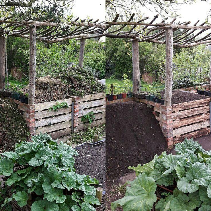 Über Ostern #Kompost gemacht