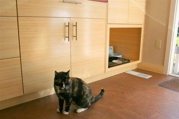 Kitty Litter Box Design Ideas, Pictures, Remodel and Decor