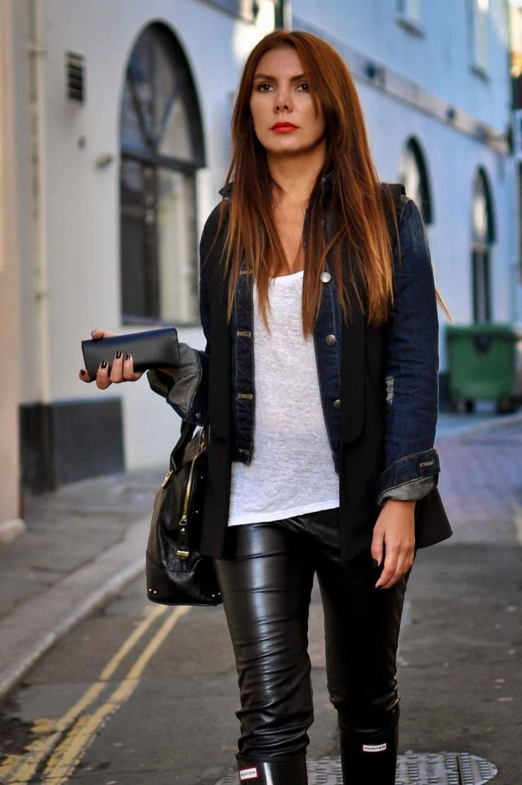 Simona Mar: Walk with me / Hunter boots / Minimalism ...