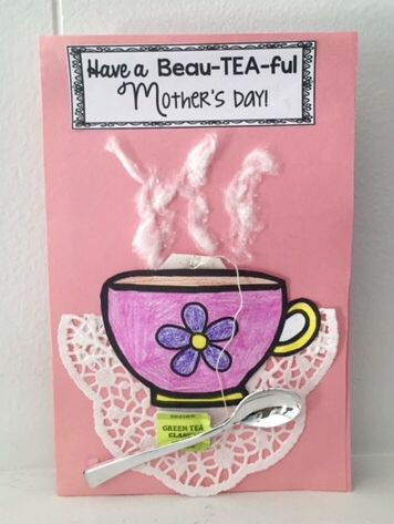 Mother's Day card and book craft! Such a special keepsake !