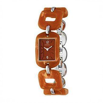 FOSSIL Orange Steel ES1831