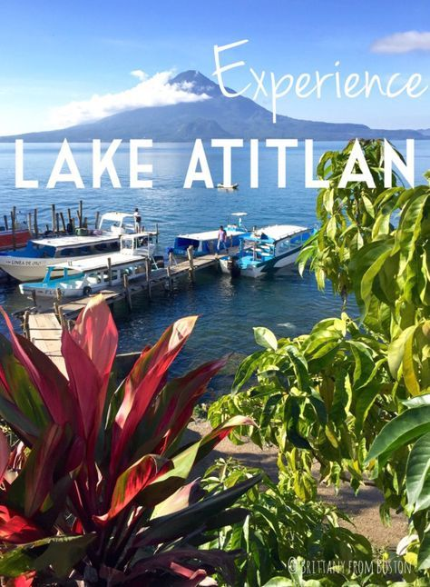 Read more here about one of Guatemala's best attractions: Lake Atitlan!